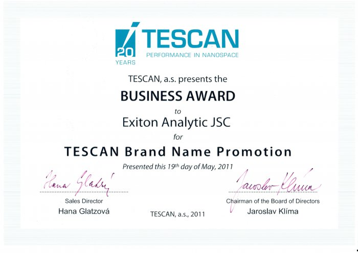 Tescan Brand Name Promotion